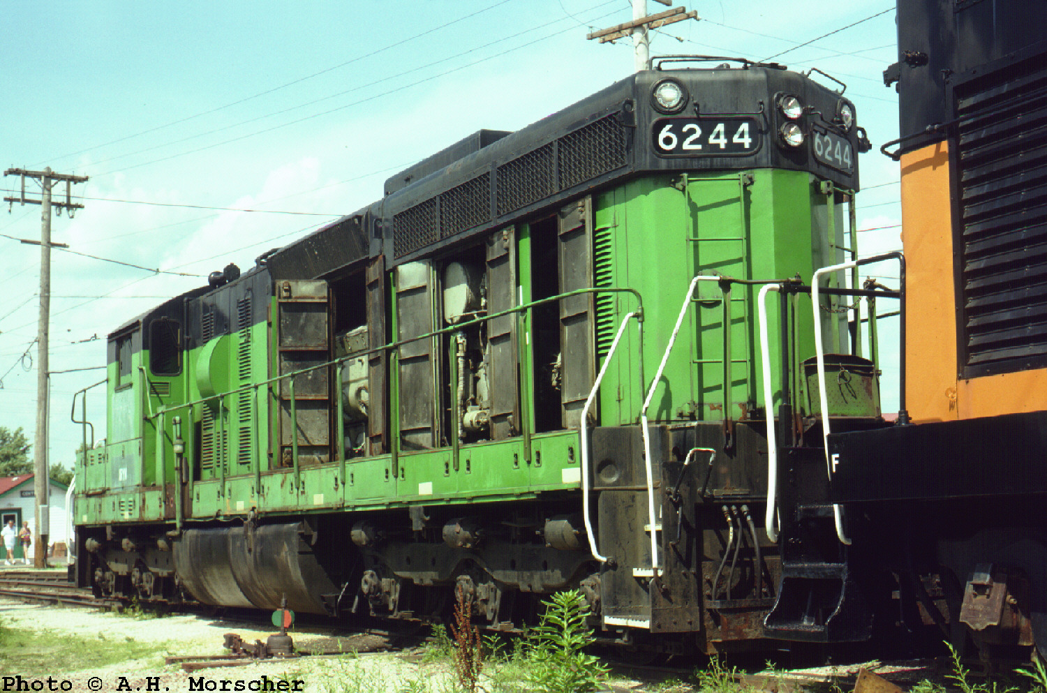 Morscher S 1989 Railroad Images Sorted By State Then By